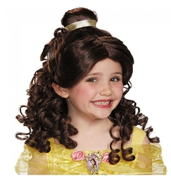 BEAUTY AND THE BEAST -  BELLE WIG - BROWN (CHILD) -  DISNEY'S PRINCESSES