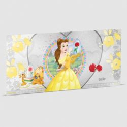 BEAUTY AND THE BEAST -  DISNEY PRINCESS - BELLE -  2018 NEW ZEALAND MINT COINS 02