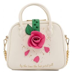 BEAUTY AND THE BEAST -  ROSE CROSSBODY -  LOUNGEFLY