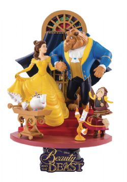 BEAUTY AND THE BEAST -  STATUE (6INCHES) -  D-STAGE 011