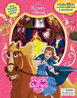 BEAUTY AND THE BEAST -  SUCTION CUP ALBUM
