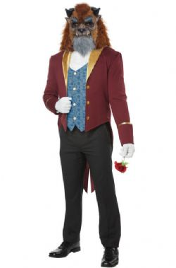 BEAUTY AND THE BEAST -  THE BEAST COSTUME (ADULT)