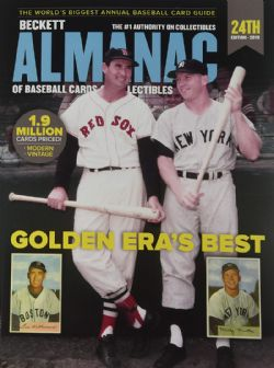 BECKETT BASEBALL CARDS -  ALMANAC PRICE GUIDE 2019 - 24TH EDITION