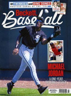 BECKETT BASEBALL -  JULY 2020 *MICHAEL JORDAN COVER* 172
