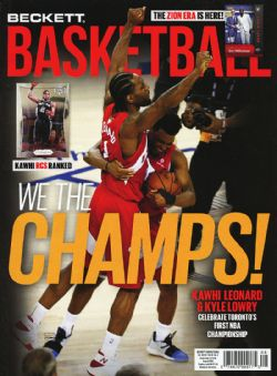 BECKETT BASKETBALL -  AUGUST 2019 323