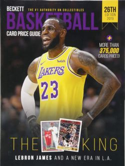 BECKETT BASKETBALL -  CARD PRICE GUIDE 2019 26TH EDITION