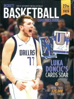 BECKETT BASKETBALL -  CARD PRICE GUIDE 2020 27TH EDITION