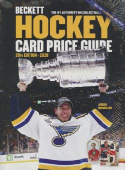 BECKETT HOCKEY -  CARD PRICE GUIDE ANNUAL 2019 BECKETT (28TH EDITION)