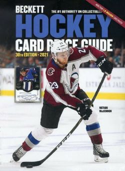 BECKETT HOCKEY CARDS -  ANNUAL PRICE GUIDE 2020 30