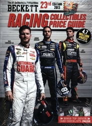 BECKETT RACING -  RACING COLLECTIBLES PRICE GUIDE 2013 - 23RD EDITION