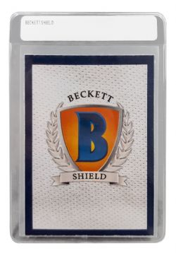 BECKETT SHIELD -  SEMI-RIGID LARGE SIZE CARD STORAGE SLEEVES