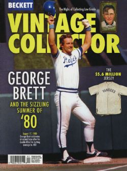 BECKETT VINTAGE -  VINTAGE COLLECTOR AUGUST/SEPTEMBER 2019
