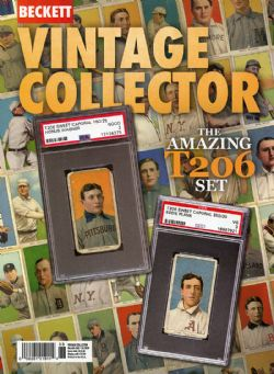BECKETT VINTAGE -  VINTAGE COLLECTOR DECEMBER/JANUARY 2019/2020