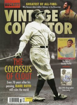 BECKETT VINTAGE -  VINTAGE COLLECTOR MARCH 2019