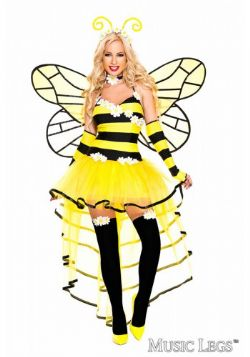 BEE -  DELUXE QUEEN BEE COSTUME (ADULT)