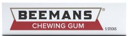 BEEMANS -  CHEWING GUM - 5 STICKS