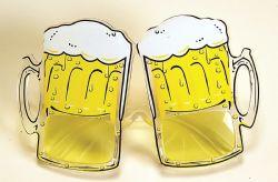 BEER -  GLASS OF BEER GLASSES