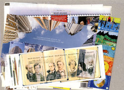 BELGIQUE -  2009 COMPLETE YEAR SET, NEW STAMPS