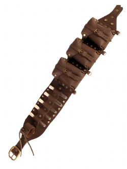BELTS -  ALCHEMIST BELT - BROWN