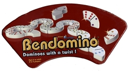 BENDOMINO -  BENDOMINO - DOMINOES WITH A TWIST! (ENGLISH)