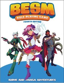 BESM : ROLEPLAYING GAME 4TH -  CORE RULEBOOK (ENGLISH)