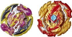 BEYBLADE -  DUEL PACK HYPER SPHERE - ROKTAVOR R5 / LORD SPRYZEN S5 -  BURST EVOLUTION