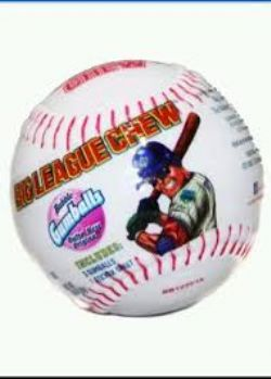 BIG LEAGUE CHEW -  BUBBLE GUMBALLS ORIGINAL IN BASEBALL