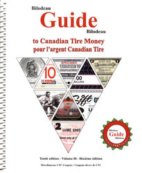 BILODEAU GUIDE -  BILODEAU GUIDE - VOLUME 3 (10TH EDITION) -  CANADIAN TIRE