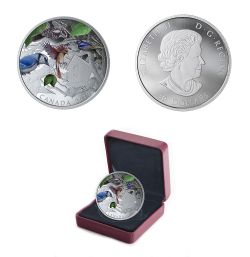 BIRDS IN THE BACKYARD -  2019 CANADIAN COINS