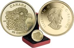 BIRDS OF PREY -  OSPREY -  2014 CANADIAN COINS 02