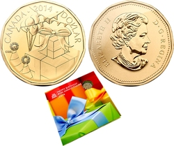 BIRTHDAYS -  2014 BIRTHDAY GIFT SET -  2014 CANADIAN COINS 10