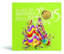 BIRTHDAYS -  2015 BIRTHDAY GIFT SET -  2015 CANADIAN COINS 11