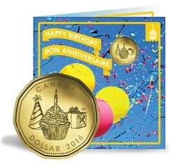 BIRTHDAYS -  2016 BIRTHDAY GIFT SET -  2016 CANADIAN COINS 12
