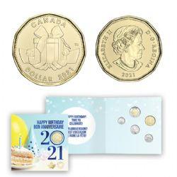 BIRTHDAYS -  2021 BIRTHDAY GIFT SET -  2021 CANADIAN COINS 17