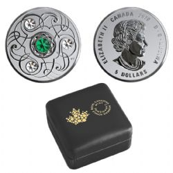 BIRTHSTONES (2020) -  EMERALD - MAY -  2020 CANADIAN COINS 05