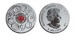 BIRTHSTONES (2020) -  GARNET - JANUARY -  2020 CANADIAN COINS 01