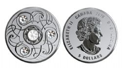 BIRTHSTONES (2020) -  PEARL - JUNE -  2020 CANADIAN COINS 06
