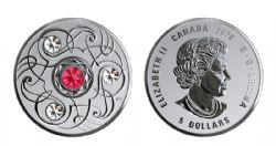 BIRTHSTONES (2020) -  RUBY- JULY -  2020 CANADIAN COINS 07
