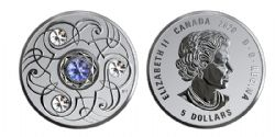 BIRTHSTONES (2020) -  SAPPHIRE - SEPTEMBER -  2020 CANADIAN COINS 09