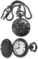 BLACK BUTLER -  SEBASTIAN POCKET WATCH (PHANTOMHIVE CREST)