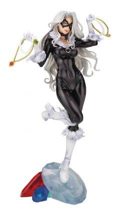 BLACK CAT -  BLACK CAT STATUE (9 INCHES) -  BISHOUJO