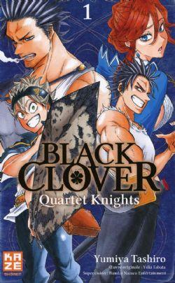 BLACK CLOVER -  DE L'AVENIR VERS LE PASSÉ (FRENCH V.) -  QUARTET KNIGHTS 01