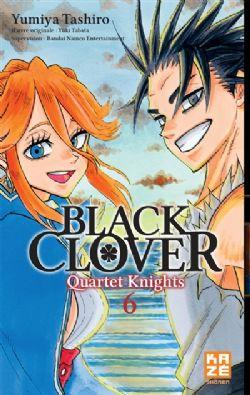BLACK CLOVER -  (FRENCH V.) -  QUARTET KNIGHTS 06