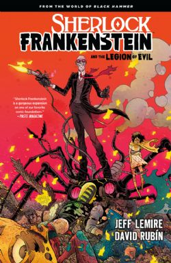 BLACK HAMMER -  USED BOOK - SHERLOCK FRANKENSTEIN AND THE LEGION OF EVIL (ENGLISH)