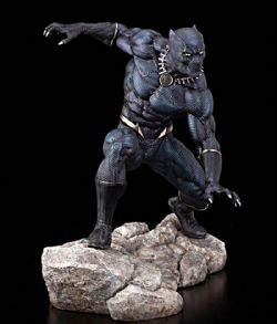 BLACK PANTHER -  BLACK PANTHER ARTFX STATUE (11INCHES) -  MARVEL PREMIER STATUE