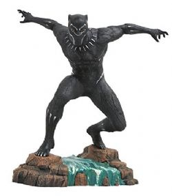 BLACK PANTHER -  BLACK PANTHER PVC STATUE (9INCHES) -  MARVEL GALLERY