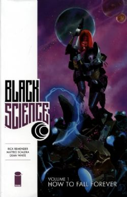 BLACK SCIENCE -  USED BOOK - BUNDLE TOMES 1 TO 9 (ENGLISH)