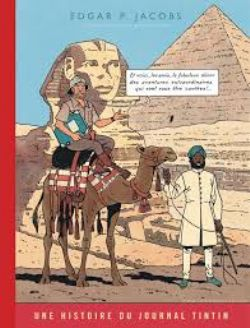 BLAKE AND MORTIMER -  LE MYSTÈRE DE LA GRANDE PYRAMIDE - TOME 1 (VERSION JOURNAL TINTIN) 04