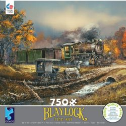 BLAYLOCK -  AMISH TRAIN (750 PIECES)