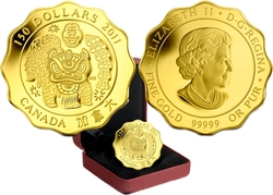 BLESSINGS -  BLESSINGS OF HAPPINESS -  2011 CANADIAN COINS 03